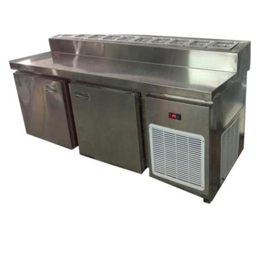 Stainless Steel Pizza Make Line Refrigerator