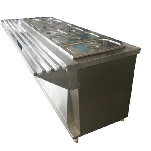 Stainless Steel Commercial Food Warmer SS Buffet Food Warmer