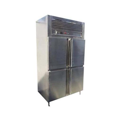 Stainless Steel Commercial Four Door Vertical Refrigerator, Electricity, Capacity: 1200 L