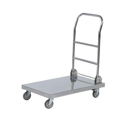 Stainless Steel Material Handling Trolley, Load Capacity: 100-150 Kg