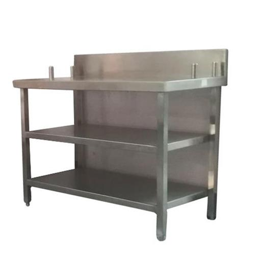 Stainless Steel Polished SS Storage Table, for Hotel