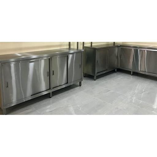 Stainless Steel Rectangular Commercial SS Single Drawer Cabinet, for Kitchen