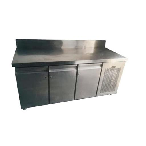 Stainless Steel SS Commercial Table Top Refrigerator