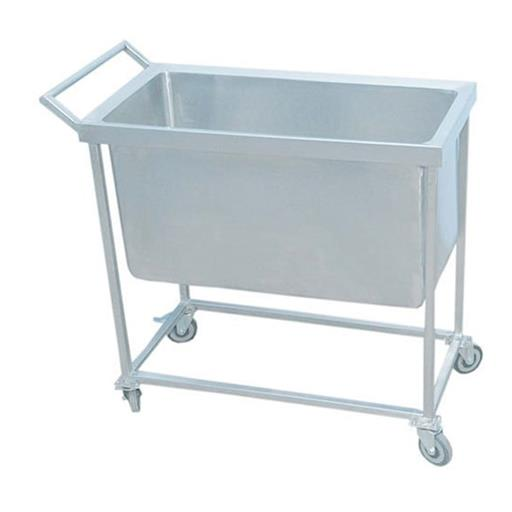 Steel Dustbin Trolley