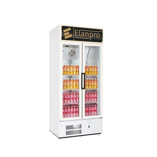 White Elanpro Upright Freezer, Ecg 625