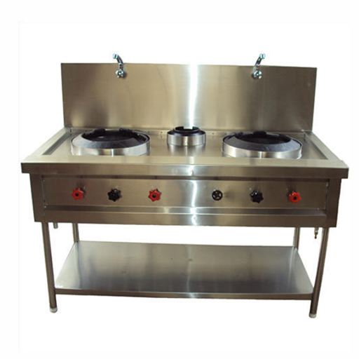 Chinese Burner Cooking Range Three Burner Chinese Range