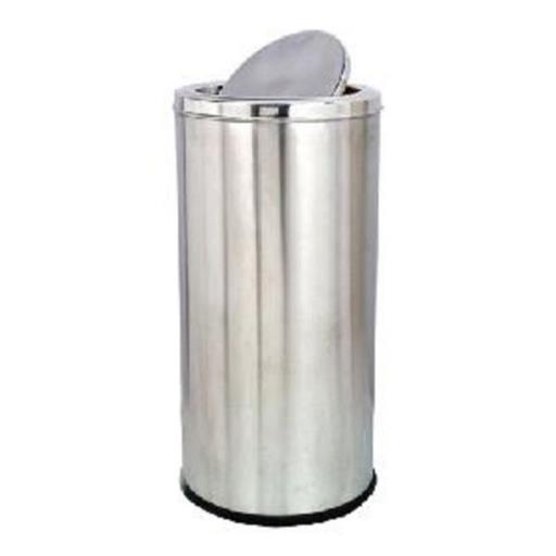 11-15 Liters MIRROR Stainless Steel Tilting Dustbin, Material Grade: Ss304