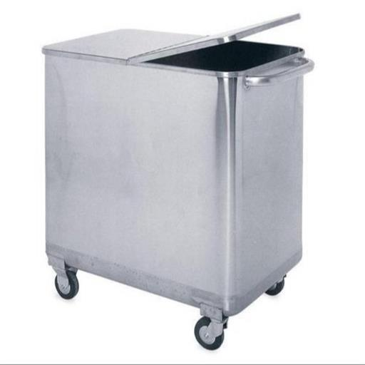 21-25 Liters Stainless Steel Outdoor Dustbin, Material Grade: Ss304