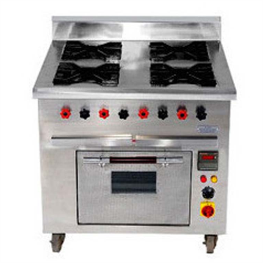 4 Burner Range With Electric Oven