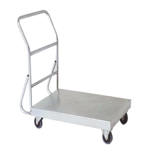 Stainless Steel Platform Trolley, For Warehouse, Load Capacity: 50-100 Kg