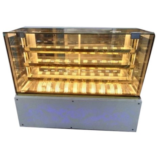 SS And Glass Food Display Cases, for Commercial, Warranty: 2 Year
