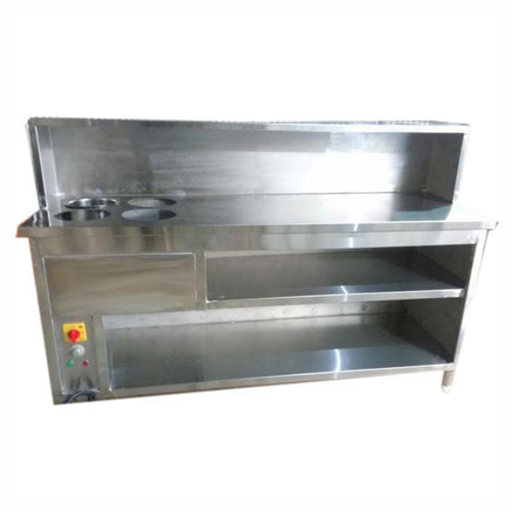 Stainless Steel Fast Food Counter