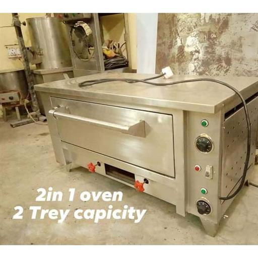 Electric cum gas Oven