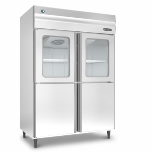 SS Vertical Refrigerator HRW-147MS4-HG Half Glass Door