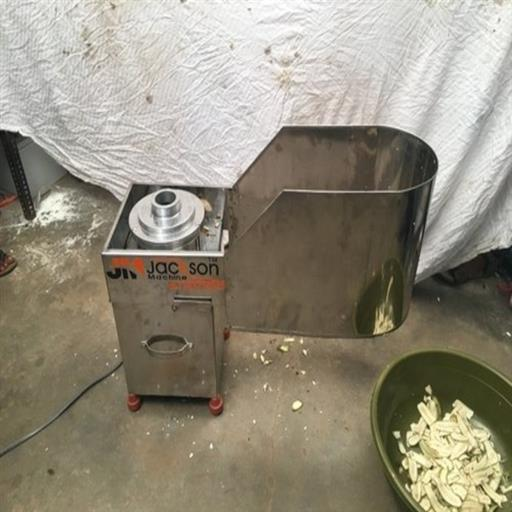 Jackson Stainless Steel Banana Slicer Machine, 1 Hp, Weight: 45 Kg