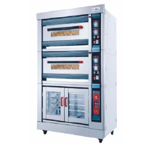 Single Phase Stainless Steel SS Gas Convection Bakery Oven, For Industrial