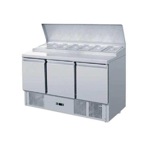 Pizza Makeline Table With Chiller