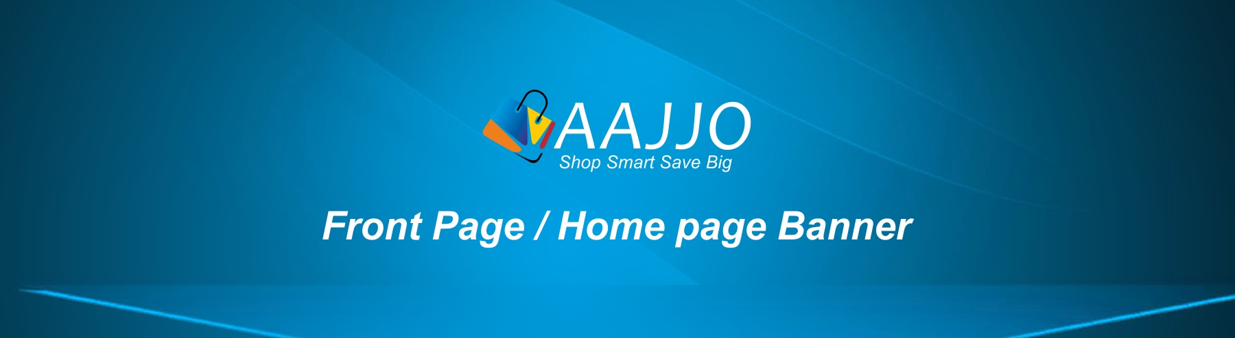 Category Banner for advertisement on home page